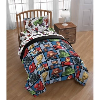 Link to Marvel Avengers Marvel Team Twin Bed in a Bag Similar Items in Kids Comforter Sets