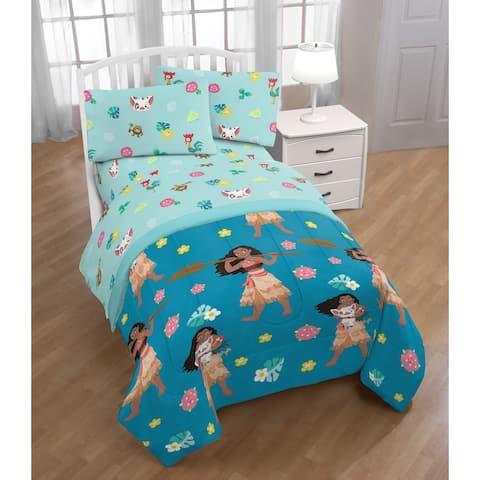 Disney Moana Flower Power Twin Bed in a Bag