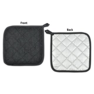 Link to DII Terry Kitchen Potholder Set (Set of 3) Similar Items in Cooking Essentials