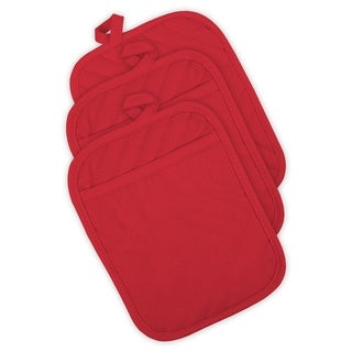Link to DII Quilted Kitchen Potholder Set (Set of 3) Similar Items in Cooking Essentials