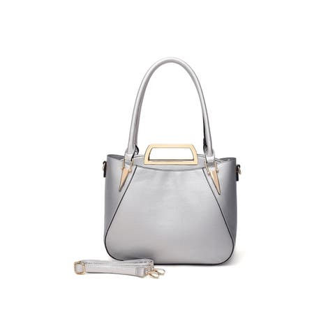 MKF Collection Veronica 2 PC Tote with Mini Bag by Mia K.