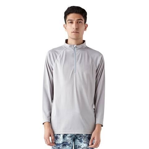 Trunks Men's Half Zip Swim Shirt - Solid