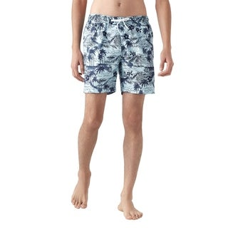 Trunks Men's Sano Swim Trunk - Palm Island Wave
