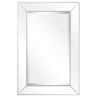 Moderno Beveled Cheval Mirror - Clear
