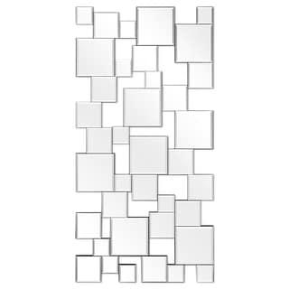 Elegant Mirror Cluster Wall Mirror - Clear - 24 in. x 0.8 in. x 48 in.
