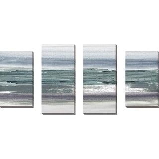 """Sahara I"" by Susan Jill Print on Canvas Set of 4 - gray"