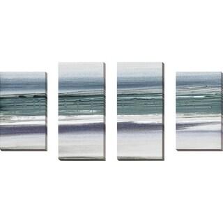 """Sahara II"" by Susan Jill Print on Canvas Set of 4 - gray"