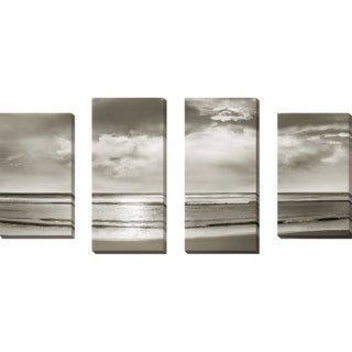 """""""Infinity"""" by Mike Calascibetta Print on Canvas Set of 4 - gray"""