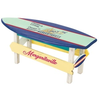 "Margaritaville ""Changes in Attitude"" Sea Plane Coffee Table"