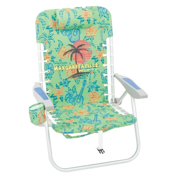 Shop Margaritaville Lace Up Backpack Beach Chair Free