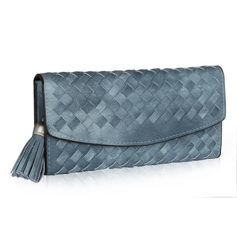 MKF Collection Connie Woven Wallet by Mia K.