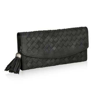 MKF Collection Connie Woven Wallet by Mia K Farrow
