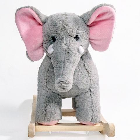 Ponyland Rocking Elephant w/ Music (Rocker)