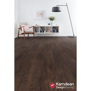 Canaletto by Karndean Designflooring - Coffee Oak Pet Friendly, Waterproof Locking LVT