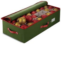 Christmas Ornament storage Box - Fits 64 Ornaments 24in x 12in x 6in
