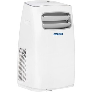 Norpole Portable Air Conditioner with Supplemental Heat and Remote Control for Rooms up to 550 Sq. Ft.