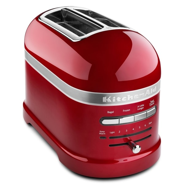 KitchenAid Pro Line 2-Slice Automatic Toaster in Candy Apple Red