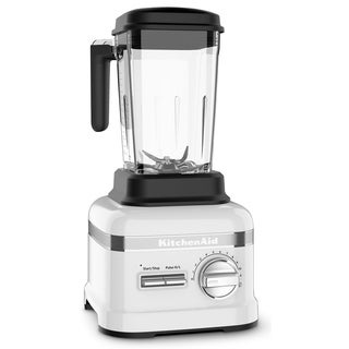 KitchenAid Pro Line 3.5 HP Blender with Self-Cleaning Cycle in Frosted Pearl White