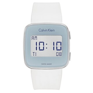Calvin Klein Future White Silicone Strap Men's Watch