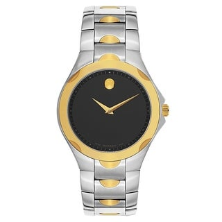 Movado Luno Sport Silver and Gold Men's Watch