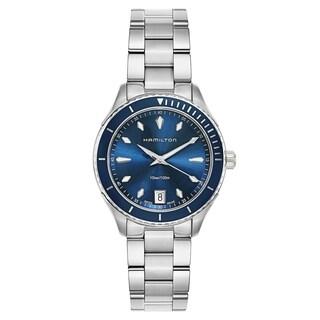 Hamilton Jazzmaster Seaview Silver Women's Watch