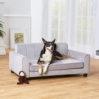 Enchanted Home Pet Ludlow Pet Sofa - Grey
