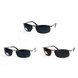 Unisex Metal Rimmed Polarized Sunglasses P872