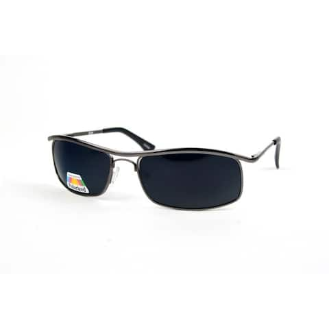 Unisex Metal Rimmed Polarized Sunglasses P872