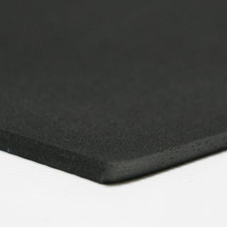 """Rubber-Cal Closed Cell Rubber Neoprene - 39"""" x 78"""" - 8 Thickness Variations - Black"""