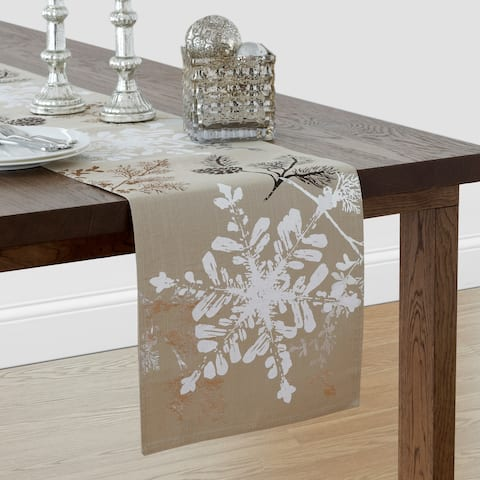 "Scenic Woodland 13"" W x 70"" L Table Runner"