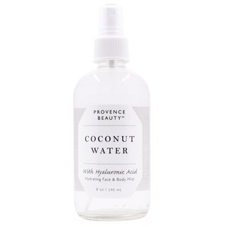 Provence Beauty 8-ounce Coconut Water + Hyaluronic Acid Hydrating Face & Body Mist