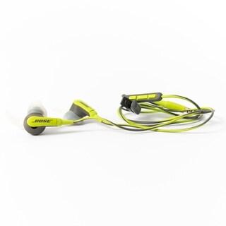 Bose In-Ear SIE2i Sport Wired, Green - Certified Preloved