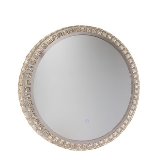 Artcraft Lighting Reflections Crystal LED Wall Mirror