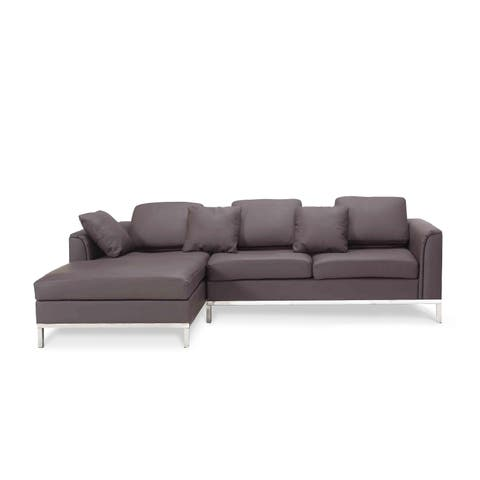 Phenomenal Buy Leather Sectional Sofas Online At Overstock Our Best Spiritservingveterans Wood Chair Design Ideas Spiritservingveteransorg