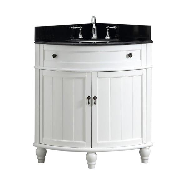 Shop Modetti Angolo 34-inch Single Sink Bathroom Vanity ...
