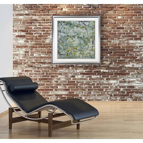 Dancing Leaves -Framed Giclee Print