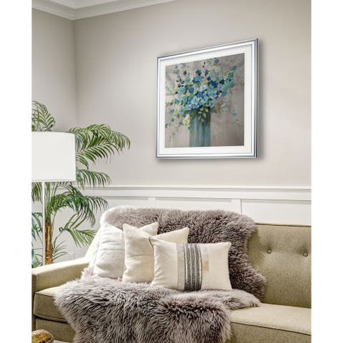 Sea Isle Wildflowers -Framed Giclee Print