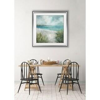Coastal Fences -Framed Giclee Print