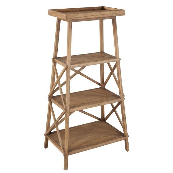 Shop Hekman Furniture Natural Wood Trestle Bookcase