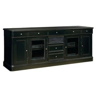 "Hekman Furniture 88"" Rustic, Farmhouse, Solid Wood Finished, Storage Entertainment Credenza, Media Console, Mueblas para TV"