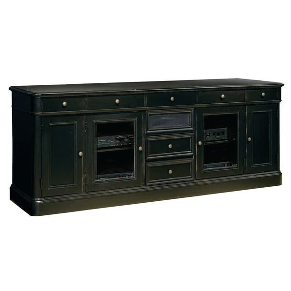 Hekman Furniture 88 Rustic Farmhouse Solid Wood Finished Storage Entertainment Credenza Media Console Mueblas Para Tv Free Shipping Today