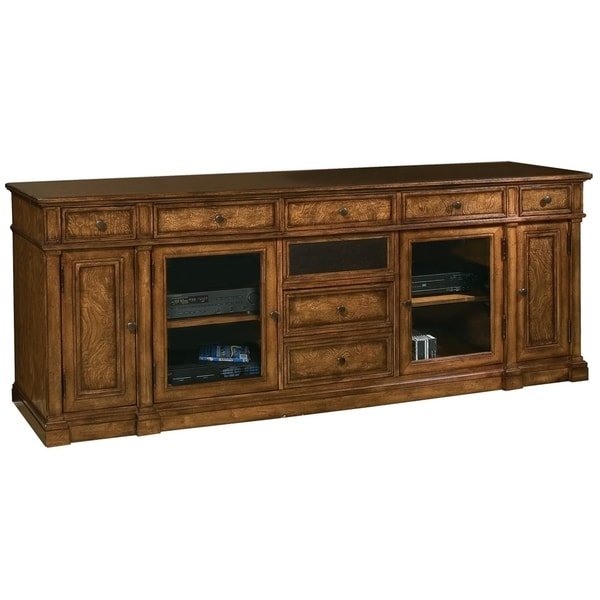 Hekman Furniture Farmhouse Rustic 7 Drawer 4 Cabinet Media Console Entertainment Stand Tv Free Shipping Today 24228849