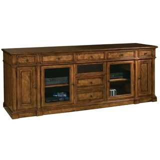 Hekman Furniture Farmhouse, Rustic 7-Drawer 4-Cabinet Media Console/Entertainment Stand/TV Stand