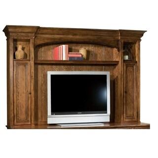 Hekman Furniture Solid Wood 2-cabinet Multi-shelf Farmhouse-chic Entertainment Deck