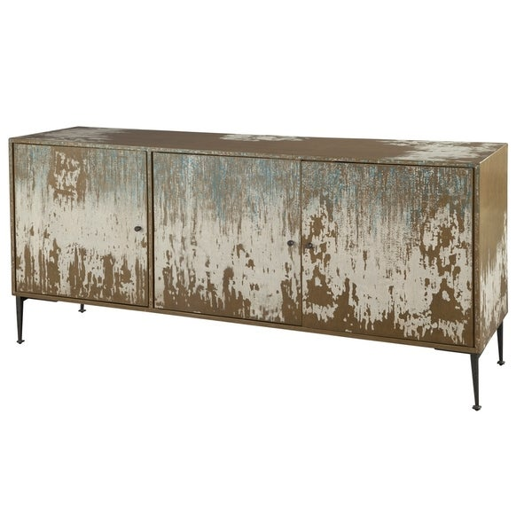 Hekman Furniture Distressed Wood Media Console Free Shipping Today 24228853