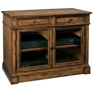 Hekman Furniture Brown Wood 44-inch 2-drawer, 2-cabinet Entertainment Stand
