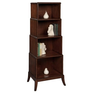 Hekman Accents Brown Wood Bookcase