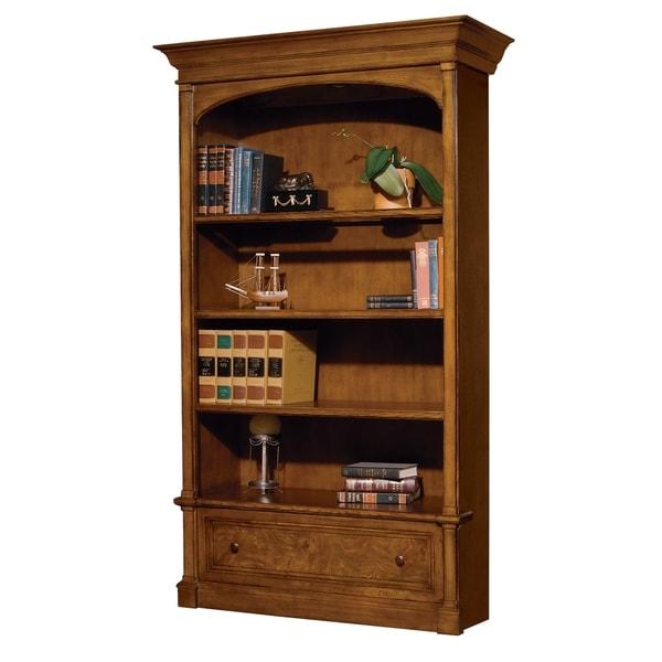 Ash Finish Wood Executive Home Office Bookshelf