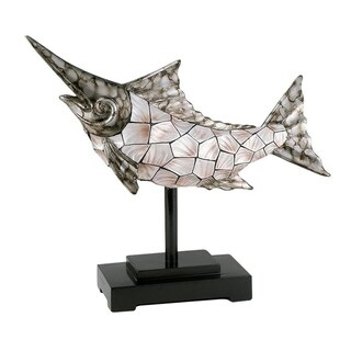 SINTECHNO SK-4229D Conch Shell Decorative Dorado Fish Stand