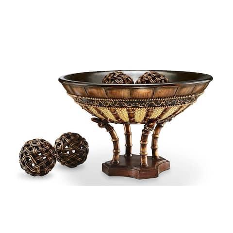 SINTECHNO SK-4231B Bahama Decorative Bowl with Spheres